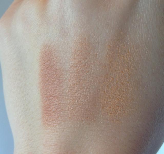 Colour Splash Multi Tone Bronzer Hilarious Honey Beauty Swatch