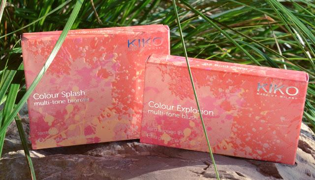 Kiko Cosmetics Spring Collection 2013 Colour Splash Multi-tone bronzer, Colour Explosion Multi Tone Blusher
