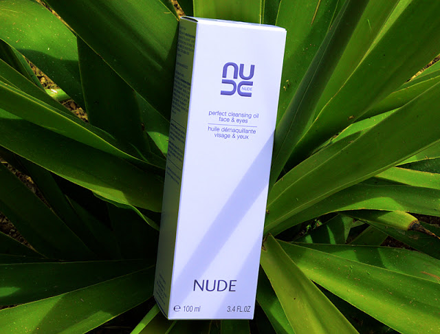 A picture of the Nude Skincare Perfect Cleansing Oil packaging