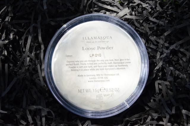 A photograph of Illamasqua Loose Setting Powder