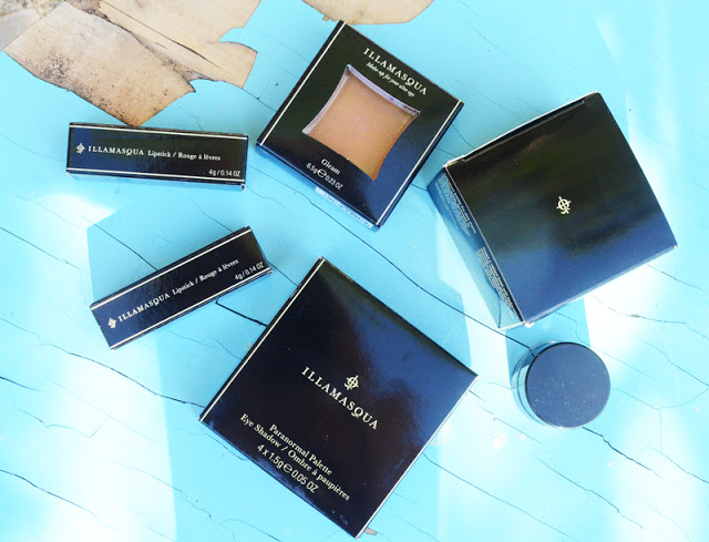 A collection of products from the Illamasqua Paranormal Collection