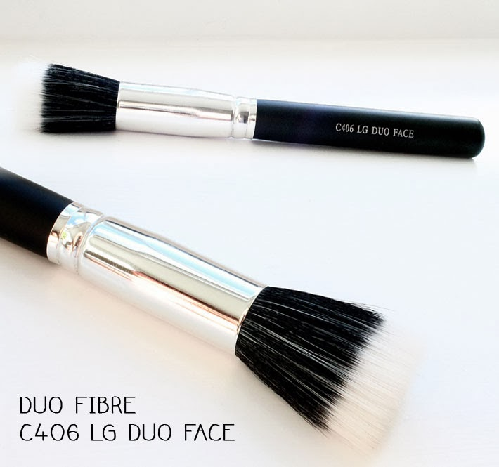 Crownbrush Duo Fibre C406 Lg Duo Face