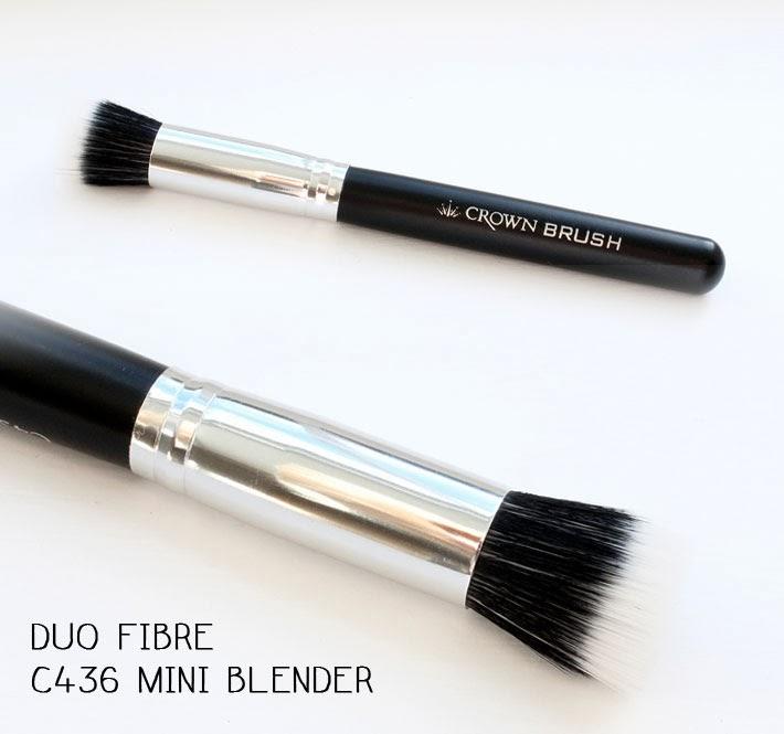 Crownbrush Duo Fibre C436 Mini Blender