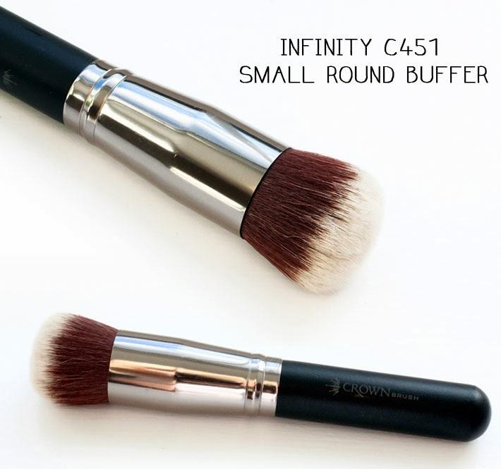 Infinity C451 Small Round Buffer
