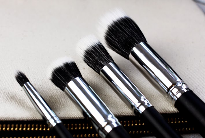 M A C Cosmetics Make-up Brush Dupes from Crownbrush UK - Zoe