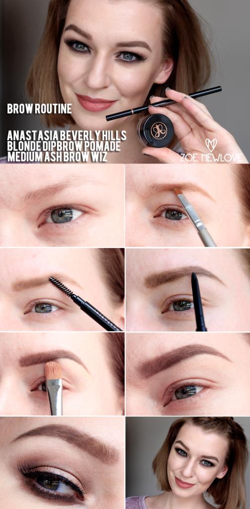 Anastasia Beverly Hills Brow Routine Beauty Tutorial