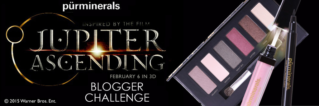 A beauty blogger takes part in the Pur Minerals Jupiter Ascending Bloggers Challenge