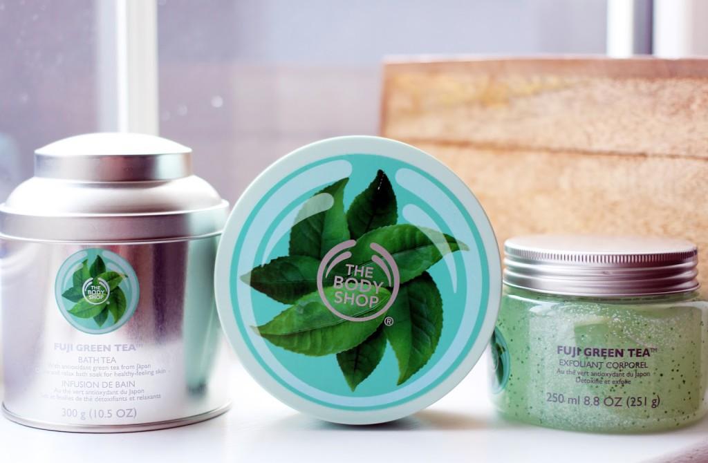 Beauty blogger reviews The Body Shop Fuji Green Tea Collection