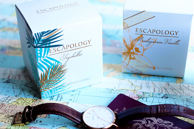 A review of the Ashleigh & Burwood Escapology Candles Seychelles and Madagascan Vanilla