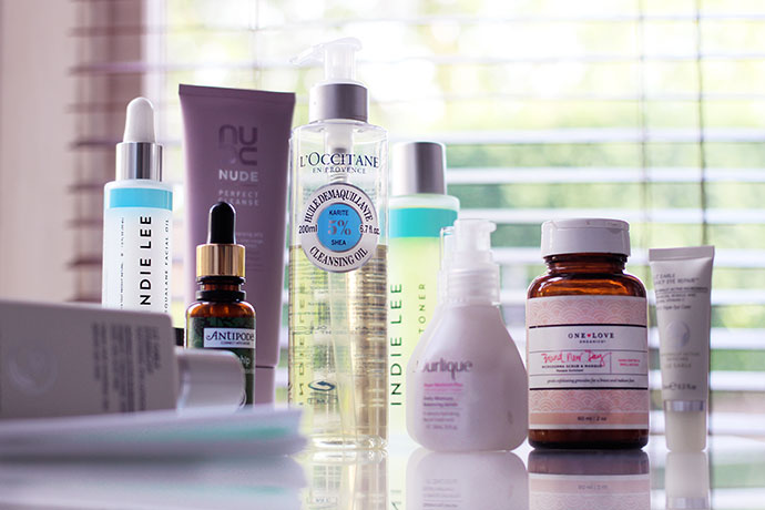 Zoe Newlove Current Skincare Routine including Antipodes, Jurlique, One Love Organics and L'Occitane