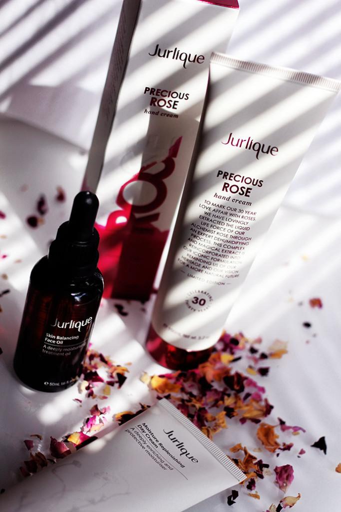 Beauty blogger Zoe Newlove celebrates Jurlique's 30th Anniversary with the Limited Edition Precious Rose Hand Cream