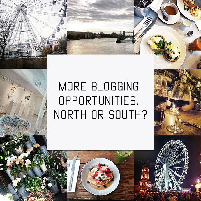 Beauty blogger Zoe Newlove writes a personal post asking the question on where is best to be for blogging: north or south?