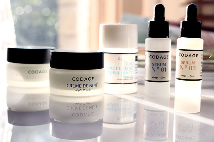 Beauty blogger Zoe Newlove reviews luxury natural skincare line Codage.
