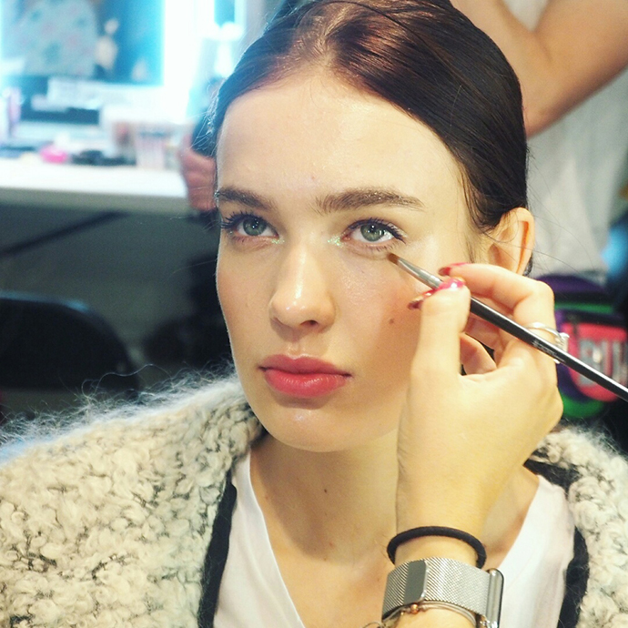 Make-up artist Zoe Newlove writes about her experience backstage with Lisa Potter Dixon and Benefit Cosmetics for Sophia Webster at London Fashion Week