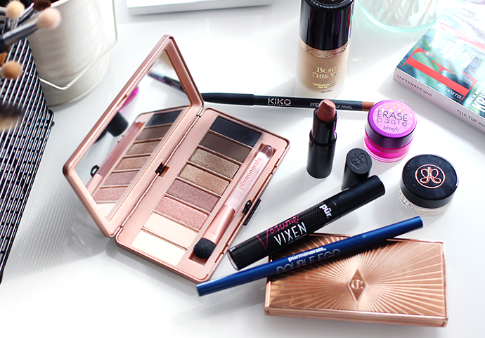 Beauty blogger Zoe Newlove reviews Pur Minerals Secret Crush Eyeshadow Palette and Double Ego Eye Liner and Vixen Mascara