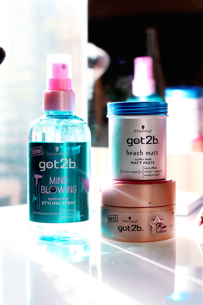 Beauty blogger Zoe Newlove reviews a selection of got2b Hair Styling Products
