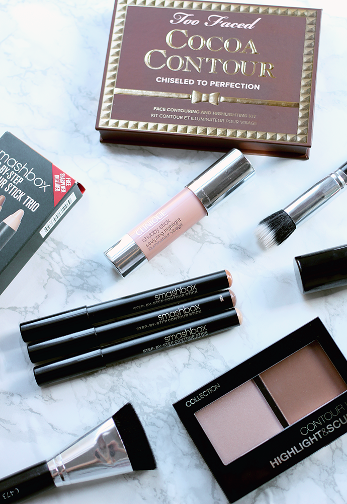 Beauty blogger and make-up artist Zoe Newlove discusses contouring make-up kits from smashbox, too faced and collection cosmetics