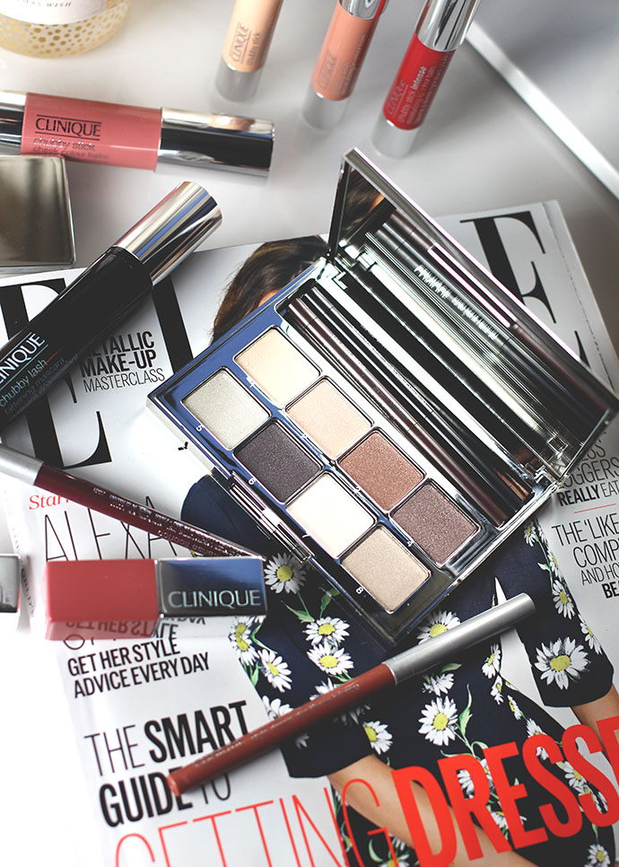 Beauty blogger Zoe Newlove reviews new make-up from Clinique 2015 including Colour Pop lipsticks and Pretty Easy Eye Palette