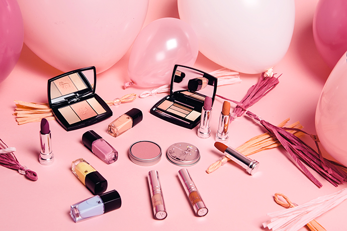 Beauty blogger Zoe Newlove review the Lancome From Lancome, With Love Parisian Spring Make-up Collection 2016 photos by adam robertson