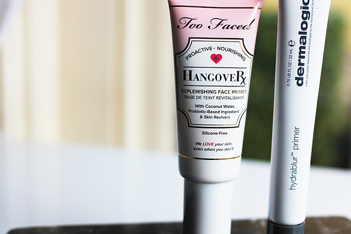 beauty blogger and make-up artist zoe newlove recommends three of her favourite primers including smashbox, dermalogica and too faced