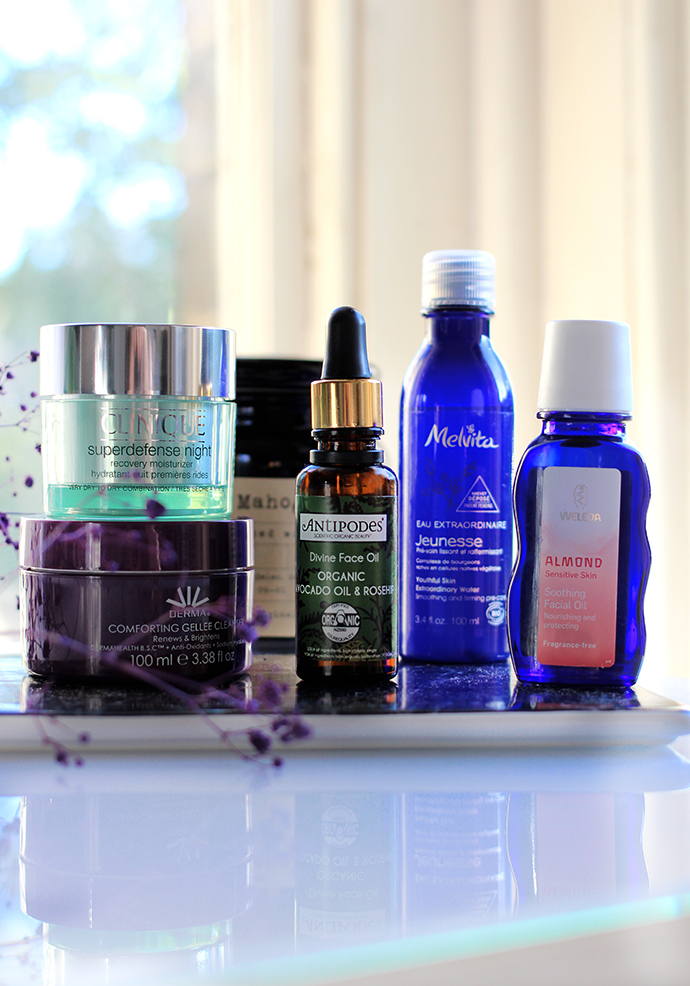 Beauty blogger Zoe Newlove recommends dehydrated skincare saviours from clinique, derma, antipodes, melvita and weleda