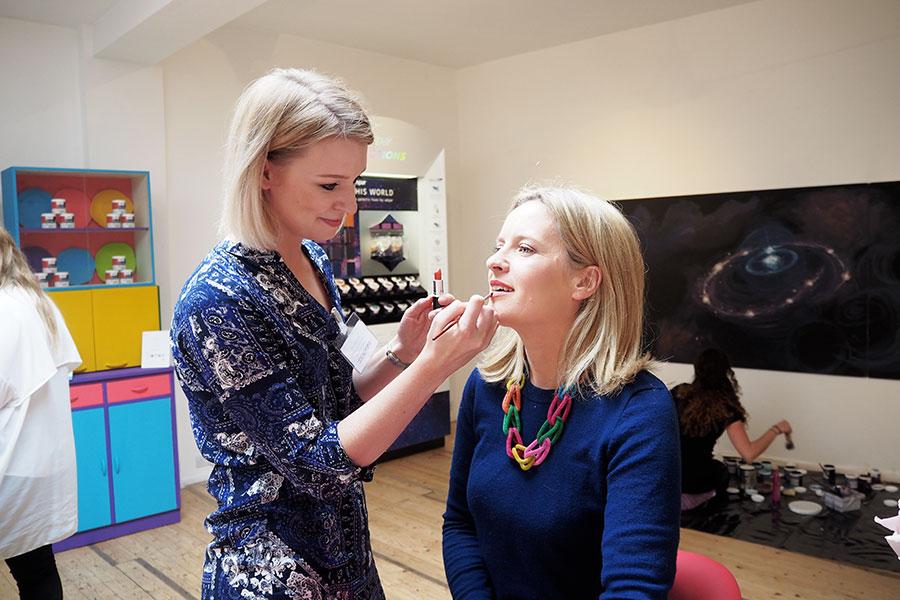 zoe newlove valspar cosmetics collection beauty blog collaboration