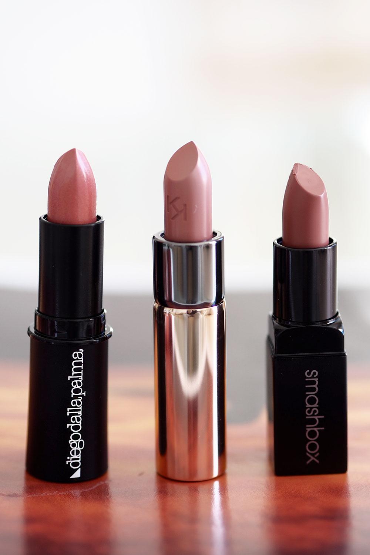 lipstick-love-smashbox-matte-lipstick,-kiko-and-dolce-and-gabbana