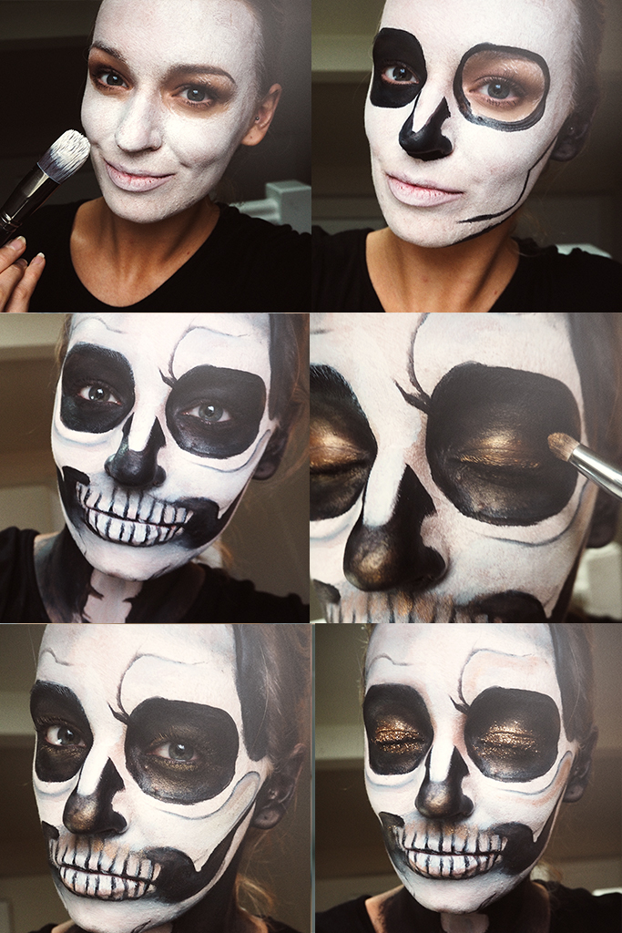 simple-glitter-skull-halloween-makeup-zoe-newlove-beauty-blogger